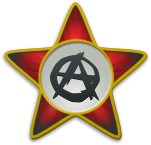 Anarchist Star Clip Art