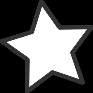 white star clip art at clker com vector clip art online royalty rh clker com all star team clip art all star clipart free download