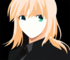 Saber Fate Zero Vector By Procify D I Kn Clip Art