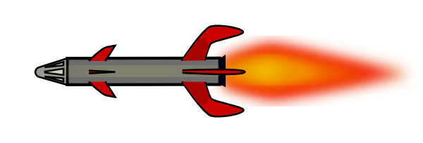 Missile Clip Art at Clker.com - vector clip art online ...