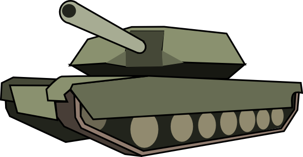 tank clip art at clker com vector clip art online royalty free rh clker com military tank clipart Tank Tracks Prints