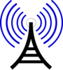 Radio Waves Clip Art