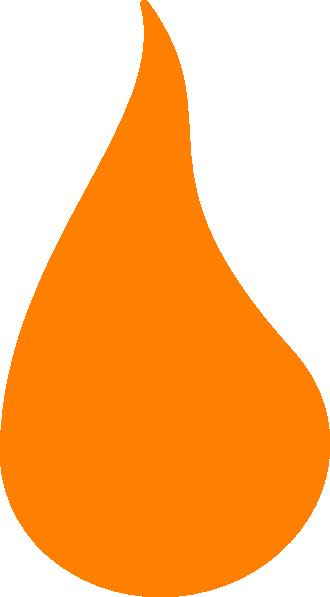 Flame Orange Clip Art At Clker Com Vector Clip Art