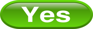 Green Yes Clip Art