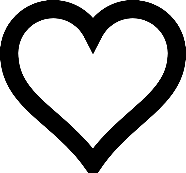 heart outline clip art at clker com vector clip art online rh clker com heart shaped outline clip art free heart outline clip art black and white