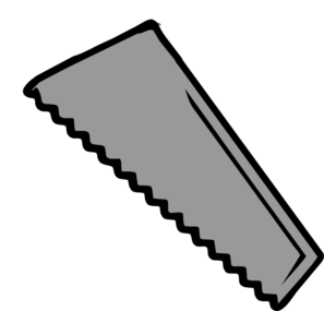 Plain Saw Blade Clip Art