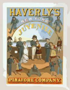 Haverly S New York Juvenile Pinafore Company 50 Artists--50. Clip Art