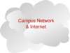 Campus Network Clip Art