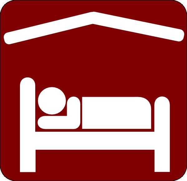 hotel motel sleeping accomodation clip art red white 2 clip art at rh clker com hotel clip art free hotel clip art free