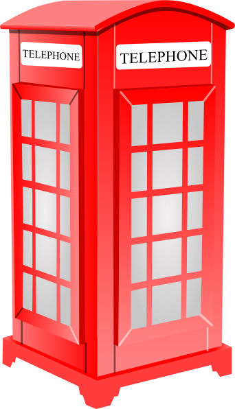 Free Clip Art Phone Booth