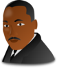 Martin Luther King Jr. Day Icon Clip Art