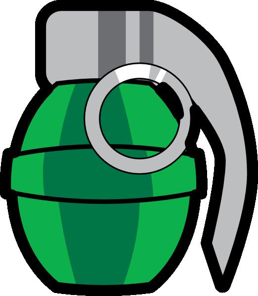 green grenade clip art at clker com vector clip art online rh clker com hand grenade pictures clip art hand grenade pictures clip art