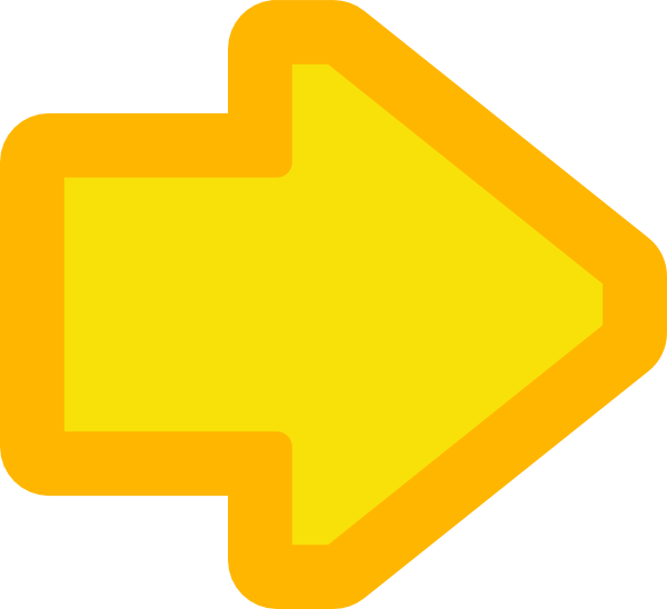 clipart yellow arrow - photo #6