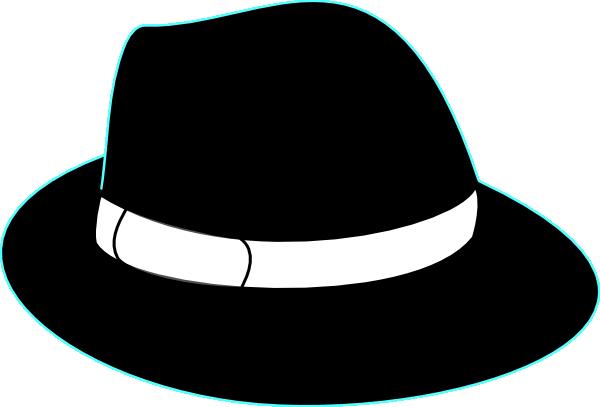 Black Hat Clip Art at Clker.com - vector clip art online ...