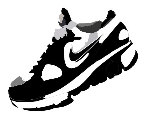 Nike Shoe Clipart