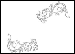 flower frame clip art at clker com vector clip art online royalty free public domain clker