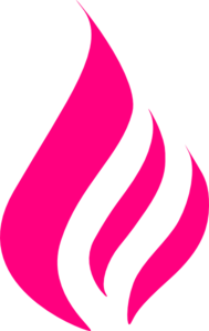 Pink Flame Clip Art