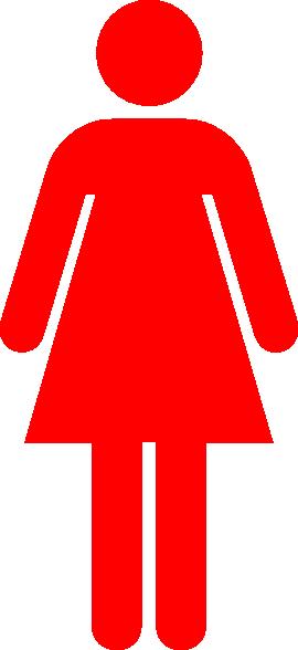 clipart ladies toilet - photo #35