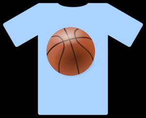 light blue shirt basketball clip art at clker com vector clip art rh clker com basketball jersey design clipart basketball jersey clip art free
