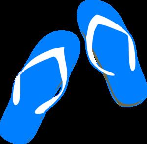 Sonnenschirm clipart gratis  Blue Flip Flops Clip Art at Clker.com - vector clip art online ...