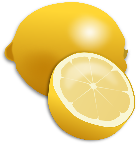 free clip art lemon slice - photo #39