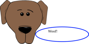 Barking Dog Clip Art