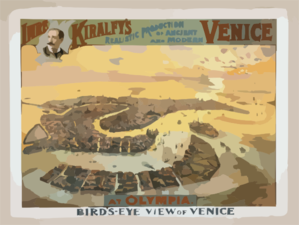 Imre Kiralfy S Realistic Production Of Ancient And Modern Venice At Olympia Clip Art