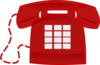 Red Phone Clip Art