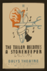The Tailor Becomes A Storekeeper  A Grotesque Comedy By David Pinski : Daly S Theatre. Clip Art