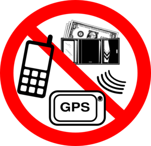 No Valuables Clip Art