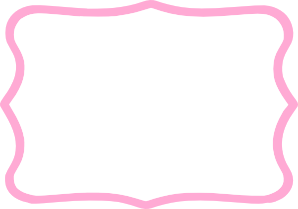 Light Pink Frame Clip Art at Clker.com - vector clip art ...