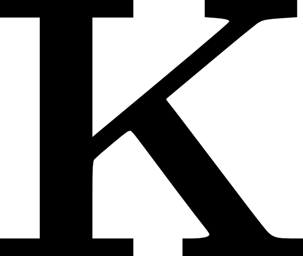 cyrillic letter k clip art at clker com