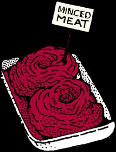 minced meat clip art at clkercom vector clip art online