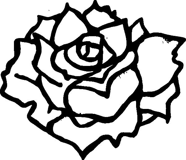 Black Rose Clip Art at Clker.com - vector clip art online ...