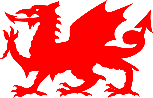 Clipart Welsh Cake : Welsh Red Dragon Clip Art at Clker.com - vector clip art ...