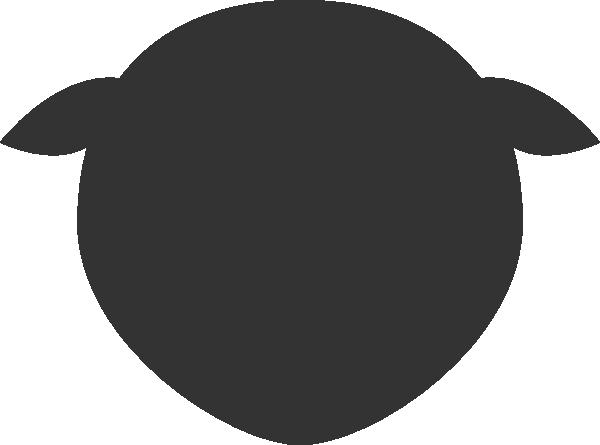 sheep head clip art at clker com vector clip art online royalty