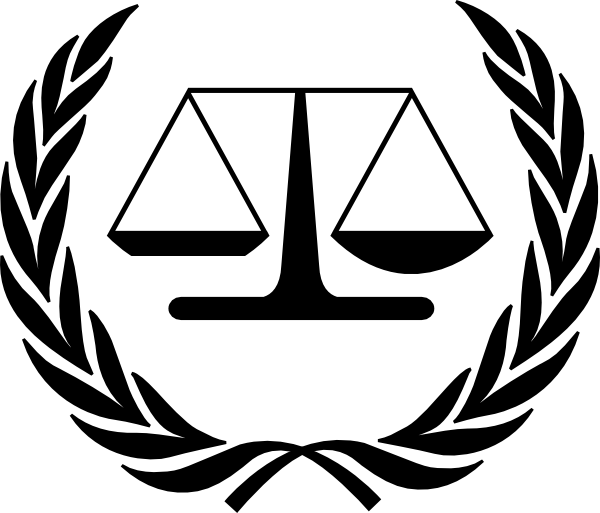 International Scales Of Justice Black Clip Art At Clker Vector