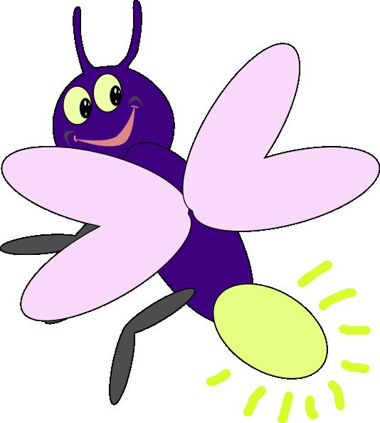 purple firefly1 clip art at clker com vector clip art online rh clker com Lamp Clip Art Firefly Drawing