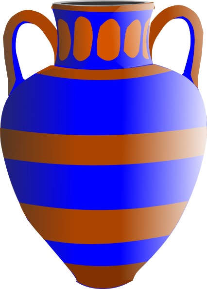 Eqyptian Vase Clip Art at Clker.com - vector clip art online, royalty ...
