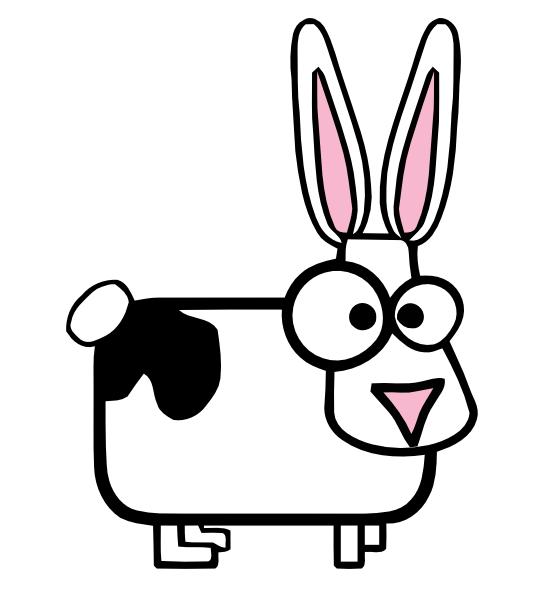 clipart rabbit cartoon - photo #47