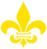 Fleur De Lis Gold With White Clip Art