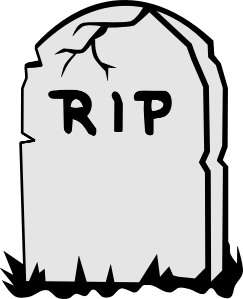 Rip Tombstone Clip Art at Clker.com - vector clip art ...