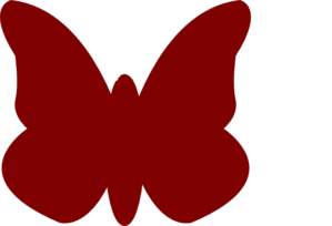 Bright Butterfly Positive  Clip Art