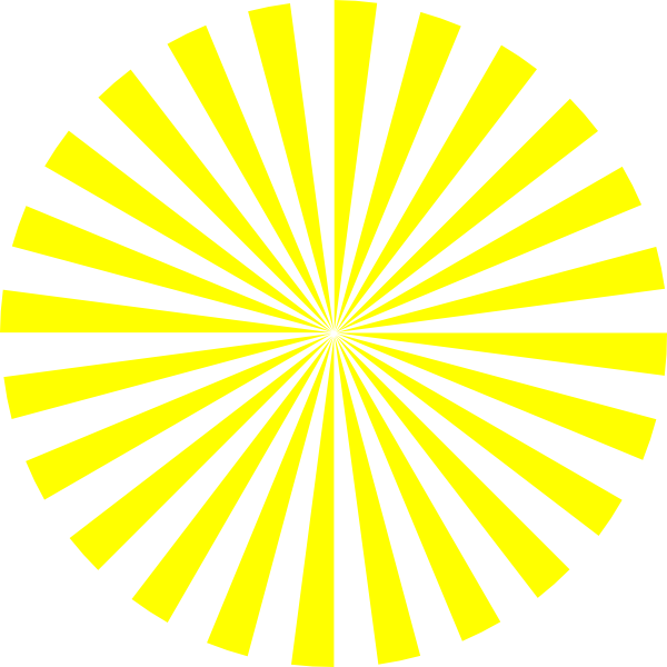 yellow starburst clipart - photo #18
