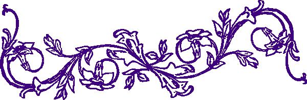 flower frame clip art
