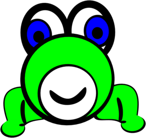 Cartoon Frog Clip Art at Clker.com - vector clip art online ...