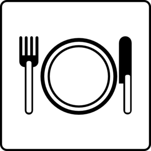 Hotel Icon Has Restaurant Clip Art