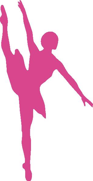 Ballet Pink Clip Art at Clker.com - vector clip art online ...