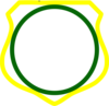 Cornered Shield 3 Clip Art