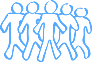 Blue Men Clip Art